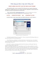Convert PDF to WORD very good