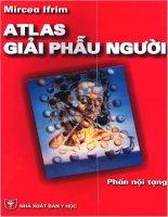 Atlas giải phẫu người - Phần nội tạng (Phần 1) pps