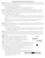 Bài tập tổng hợp về dao động cơ