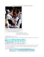 2006-ĐỀ VÀ BÀI GIẢI - ĐỊA LÝ _không phân ban-TN THPT_Thứ Năm, 01/06/2006
