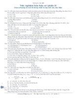 an150 câu tn hóa hữu cơ 11-12 tiếp theo có đáp án