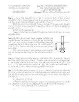 Đề thi học sinh giỏi môn lý 9 Huế (3)
