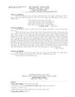 Đề thi HSG văn từ 6-9 Trường THCS Lạc Vệ - Tiên Du - Bắc Ninh.(cả đáp án)