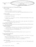Đề (6-10) ôn thi TN2010