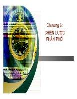 Bài giảng marketing ngân hàng chương 6 chiến lược phân phối   GV  trần thị ngọc quỳnh