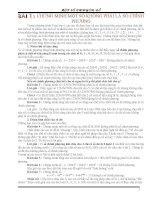 CHUYÊN ĐỀ SỐ HỌC 1