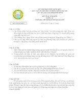 Đề thi Duyên hải Bắc Bộ -Khối 10