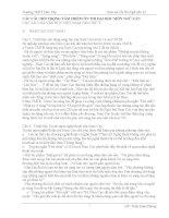 Ôn thi ĐH môn Văn phần 2 điểm