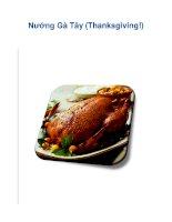 Nướng Gà Tây (Thanksgiving!) potx