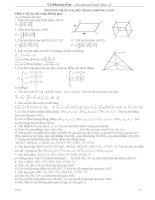 Tuyển tập các dạng bài thi ĐH hình học giải tích 12