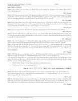 Bài tập trắc nghiệm chuyên đề bảo toàn nguyên tố