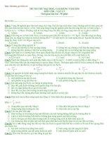 Đề&HD Lý ĐH 2010 số 36