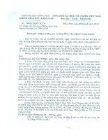 Bản Đánh giá viên chức Năm 2010