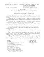 thông tư 28 quy định chế độ làm việc của giáo viên