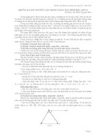 Những sai sót thường gặp trong giảng dạy hình học lớp 10