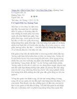 Trò Chơi Dân Gian Quảng Nam: Cờ Người Hội An potx