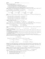 Một số đề thi thử Đại học của Bộ GD số 3
