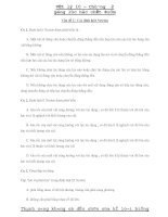 Vật lý 10 – Chương 2: Động lực học chất điểm - Vấn đề 2 ppt