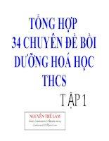 tong hop kien thuc hoa thcs hay 2010