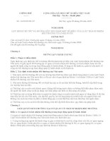 Quy định chi tiết và thi hành một số điều của luật trách nhiệm bồi thường của nhà nước