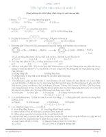 150 câu trắc nghiệm hóa hữu cơ 11-12 có đáp án