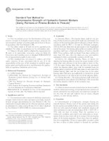Designation: C 349 – 97 - Compressive Strength of Hydraulic-Cement Mortars ppt