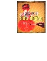 Giáo trình Bệnh tiểu đường - Phan Hà Sơn (Phần 1) pdf