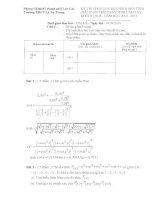 Đề thi học sinh giỏi máy tính bỏ túi - Khối 9 THCS năm 2011 pdf