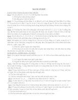 Bài tập đại số tổ hợp pptx
