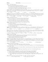 Một số đề thi thử ĐH của Bộ GD số 4