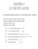 Kỹ thuật ANT & Truyền sóng_C3 ppt