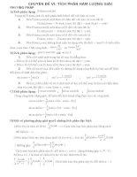 Tích phân hàm lượng giác
