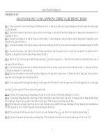 300 Bài Toán Lập PT và HPT cực hay