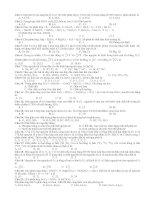 Kiểm tra học kì I hóa học lớp 10 NC pot