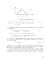 Điện Tử - Kỹ Thuật Mạch Điện Tử (Phần 2) part 12 pptx