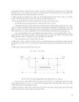 Điện Tử - Kỹ Thuật Mạch Điện Tử (Phần 2) part 6 ppsx