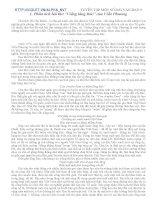 50 Bài Văn mẫu LT vào lớp 10 THPT