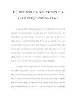 THU HÚT TINH HOA KHO TRUYỆN CỦA CÁC DÂN TỘC ANH EM – Phần 2 ppt