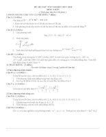 Đề thi thử TN THPT 2010 (word 2003)