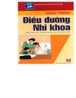 Giáo trình điều dưỡng nhi khoa (Chương 1A) ppsx
