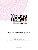 Vietnam young lions rules regulation and information by vietnamese version 1