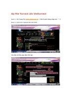 Cách Up File Torrent Lên Viettorrent potx