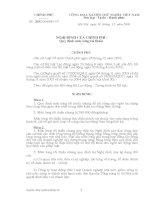 NGHỊ ĐỊNH 203CP : QUI ĐỊNH MỨC LƯƠNG TỐI THIỂU