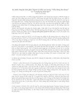 So sánh chuyện tình giữa Người và Hồn ma trong Tiễn đăng tân thoại và Truyền kỳ mạn lục