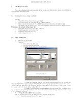 Giáo án thực hành tin học bài: Hiệu chỉnh văn bản pptx