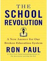 the school revolution - ron paul