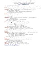 kiến thức cơ bản và nâng cao ANH 9