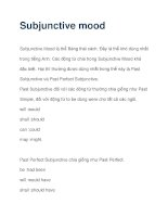Subjunctive mood pps