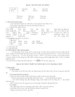 Bài 32: NGUỒN GỐC SỰ SỐNG pptx