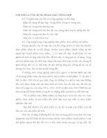 Bài Giảng Hợp Chất Màu Hữu Cơ - Chương 6 pps